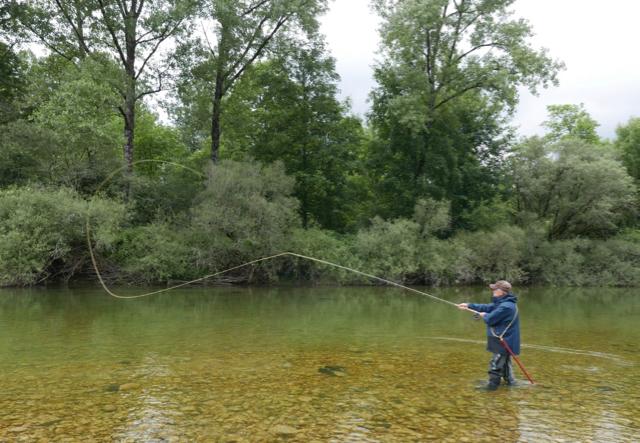 Jean-Claude-stage-Trout-Spey-Shoot-rivière-dAin-Juin-2020